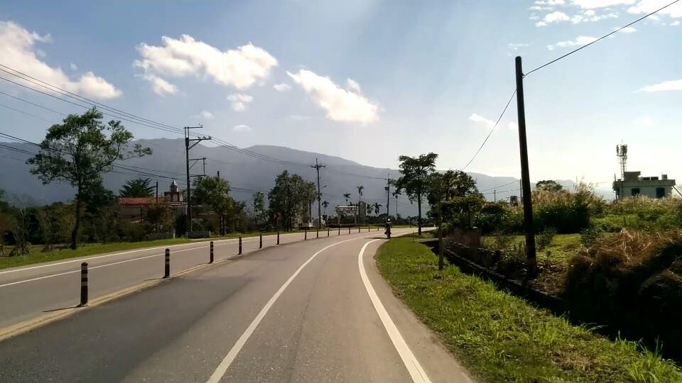 Cycling around Taiwan last year