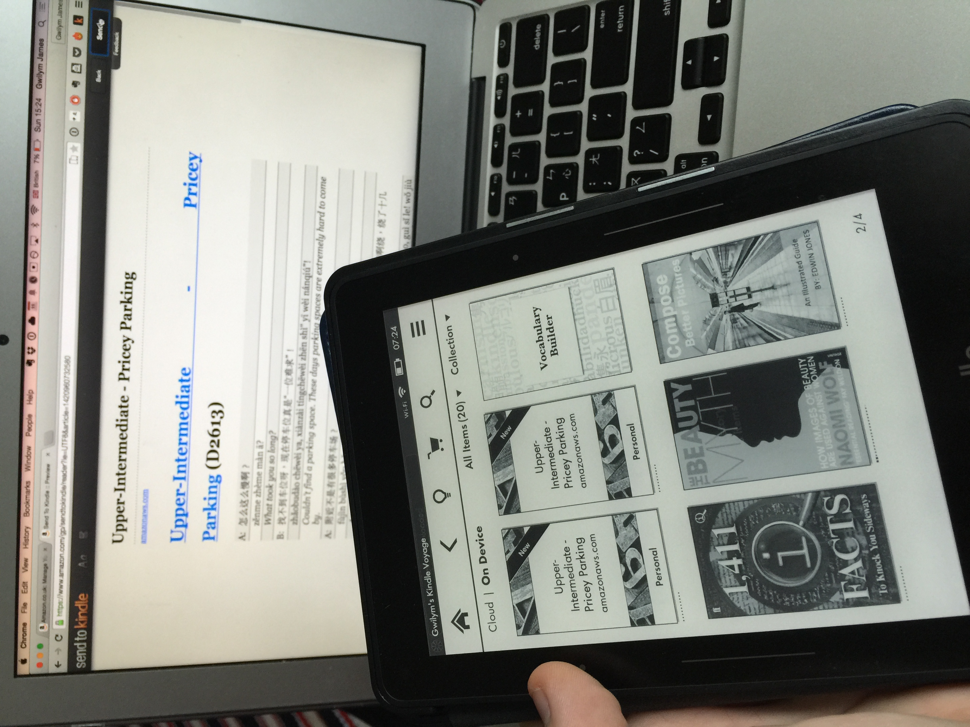 Studying Chinese on Your Kindle - ChinesePod Official Blog