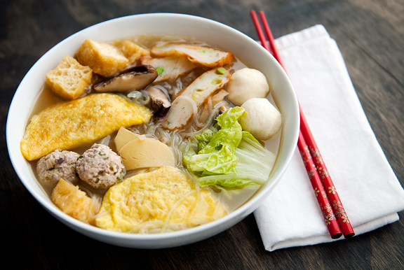 egg dumpling soup traditional chinese cuisine