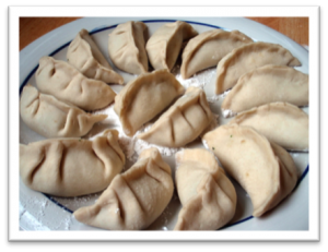 Make dumplings to celebrate Chinese New Year.