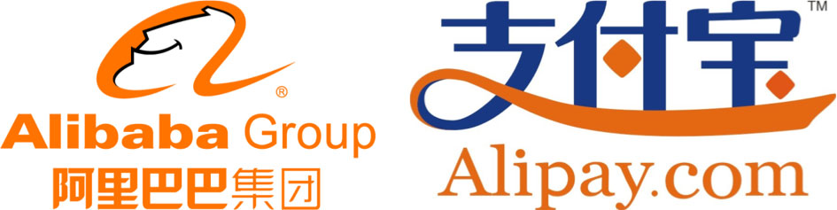 Alibaba and Alipay Logos